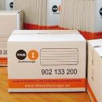cajas de cartón, caja armario, plástico de burbuja, cinta de embalaje , fundas de colchones...