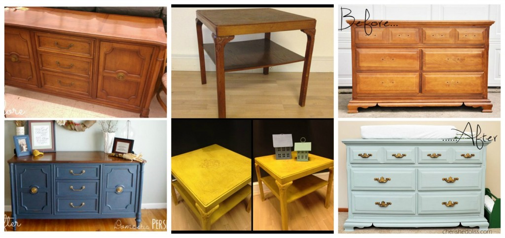 La soluci n para tus muebles viejos tkb selfstorage - Pintar sillas de madera sin lijar ...